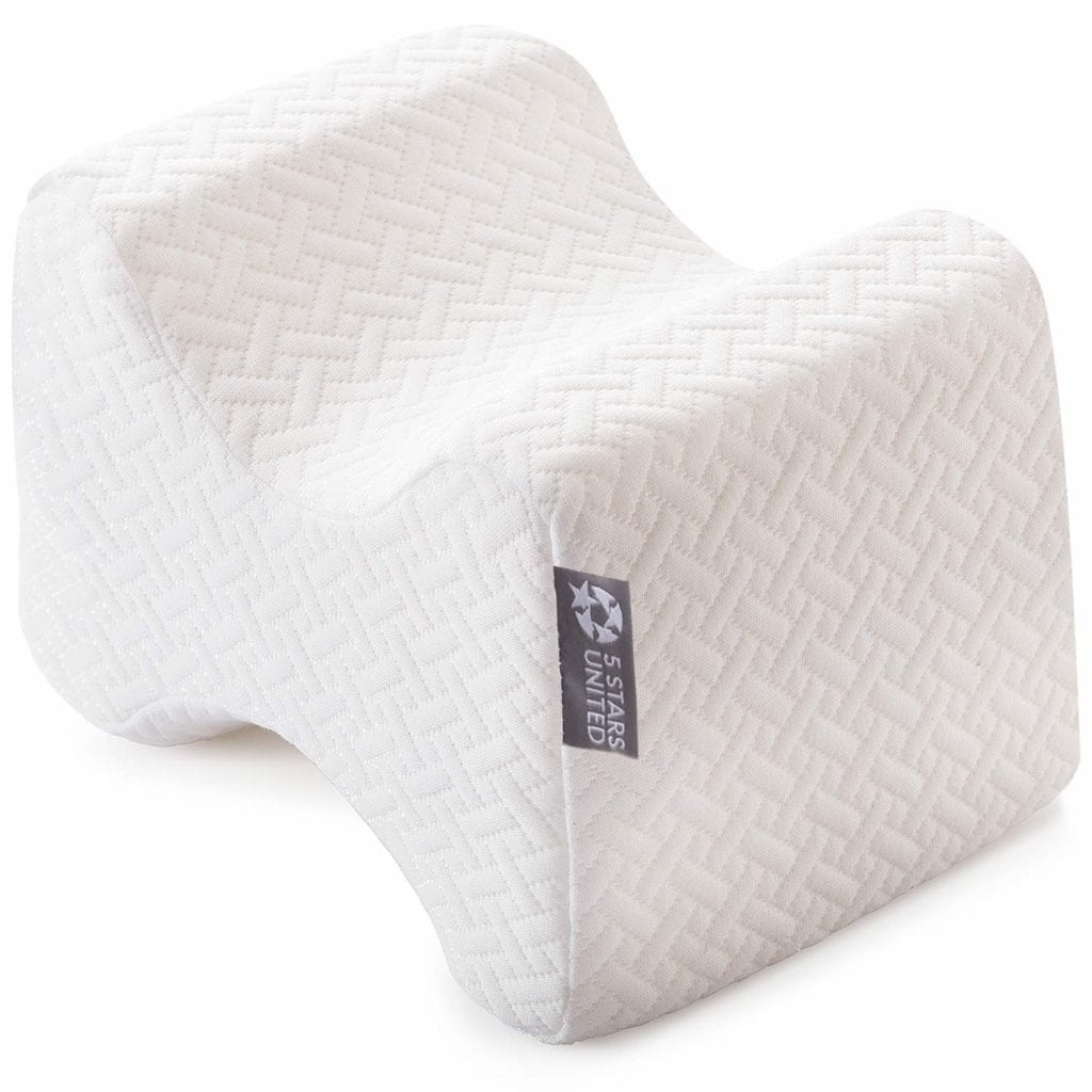 Knee Pillow for Side Sleepers By 5 Star United