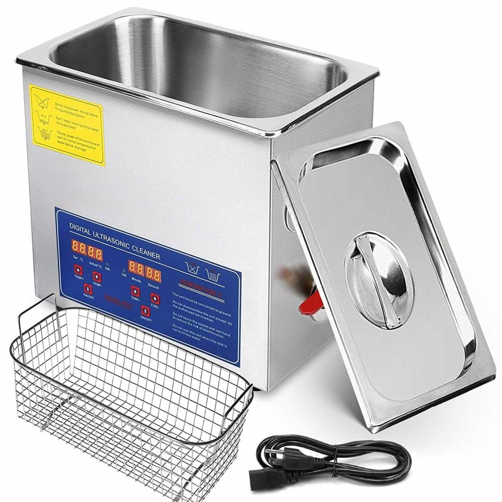 Mophorn Ultrasonic Cleaner with Digital Heater and Timer