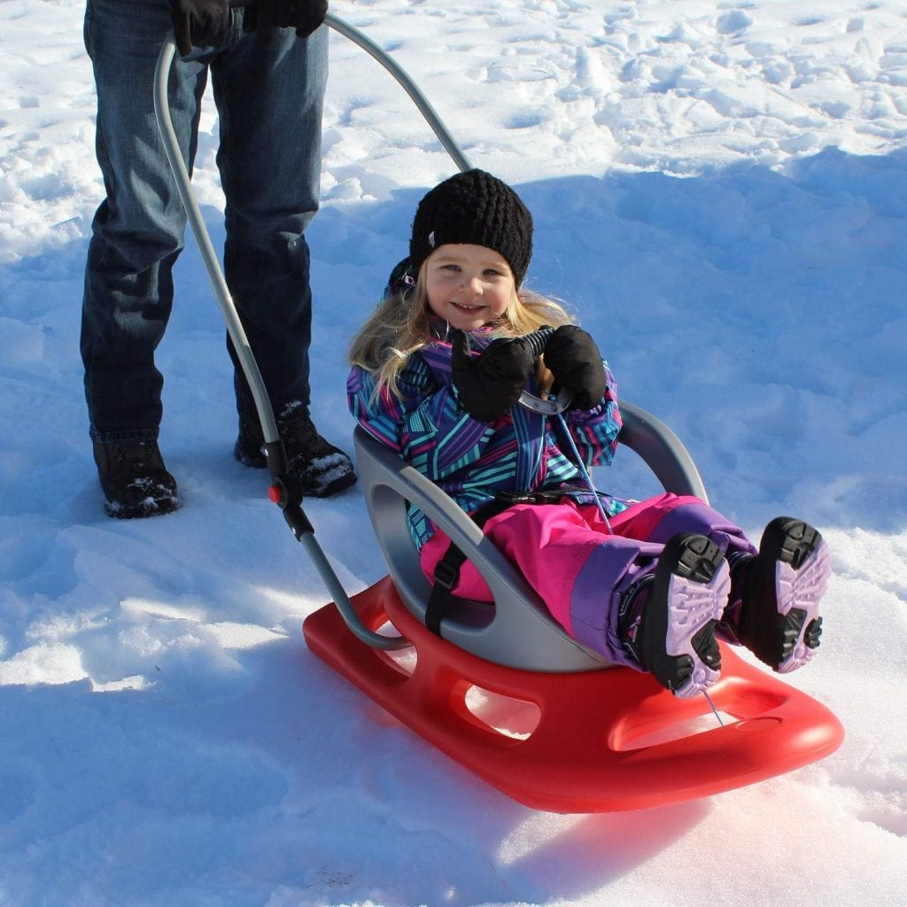 Portable Snow Stroller Baby Sled by Flexible Flyer