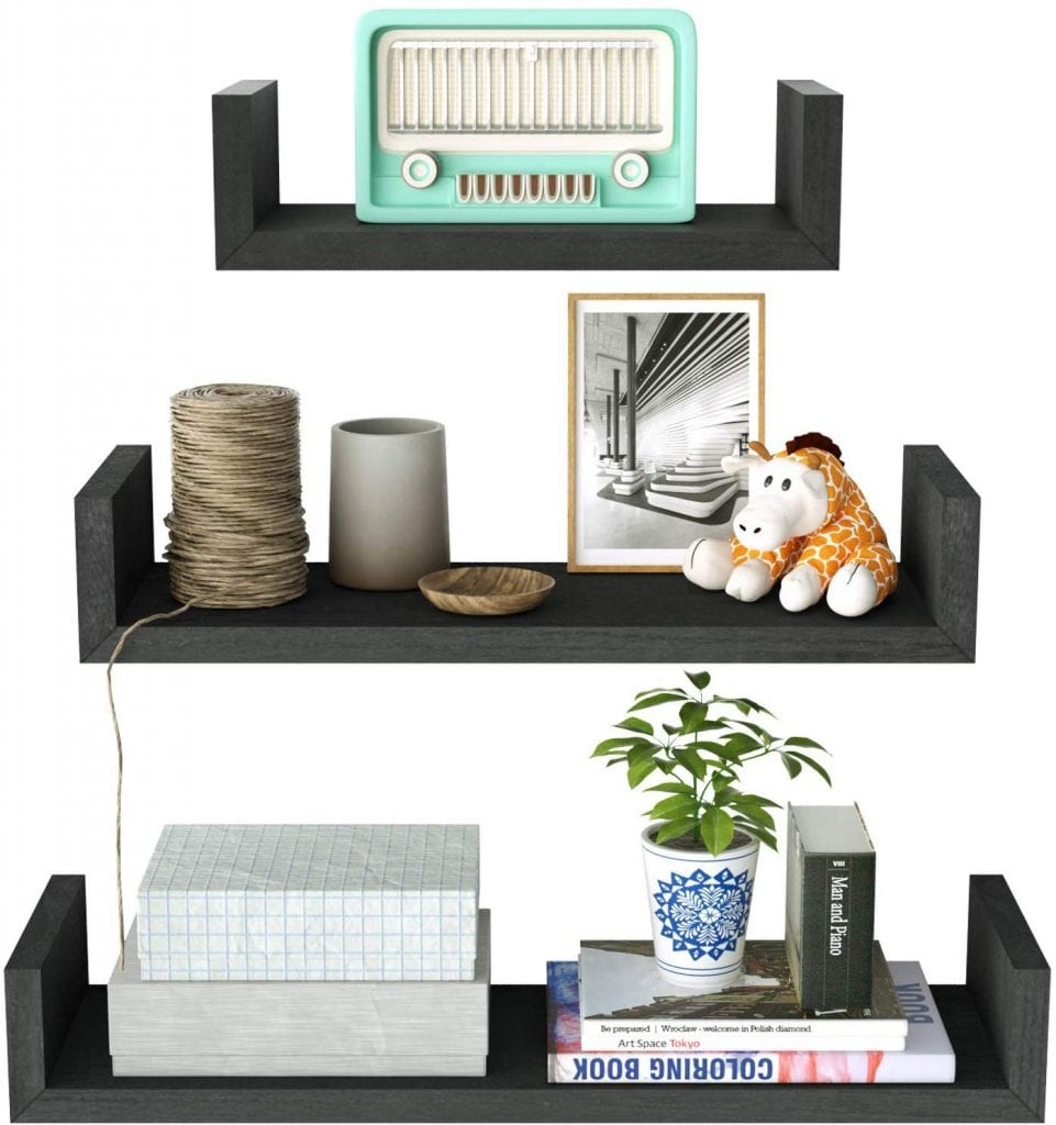 SRIWATANA Floating Shelves