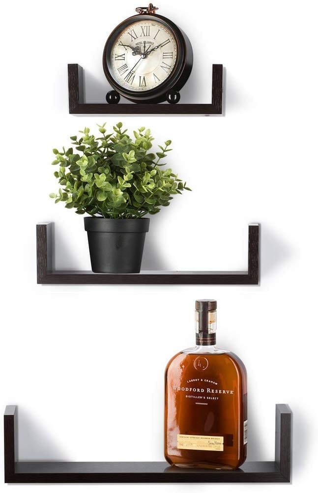 Sagler Floating Shelves Set of 3 Wall Shelves