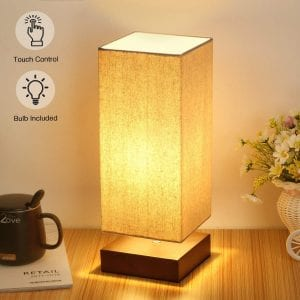 Seaside village Touch Control Bedside Lamp