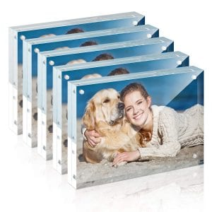 TWING Premium Acrylic Magnet Photo Frame