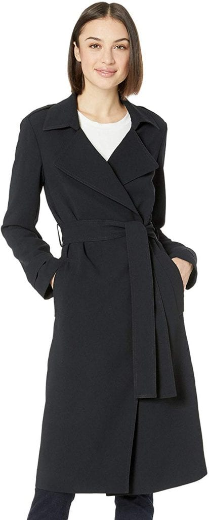 Amazon Brand - Lark & Ro Women's Lightweight Trench Coat