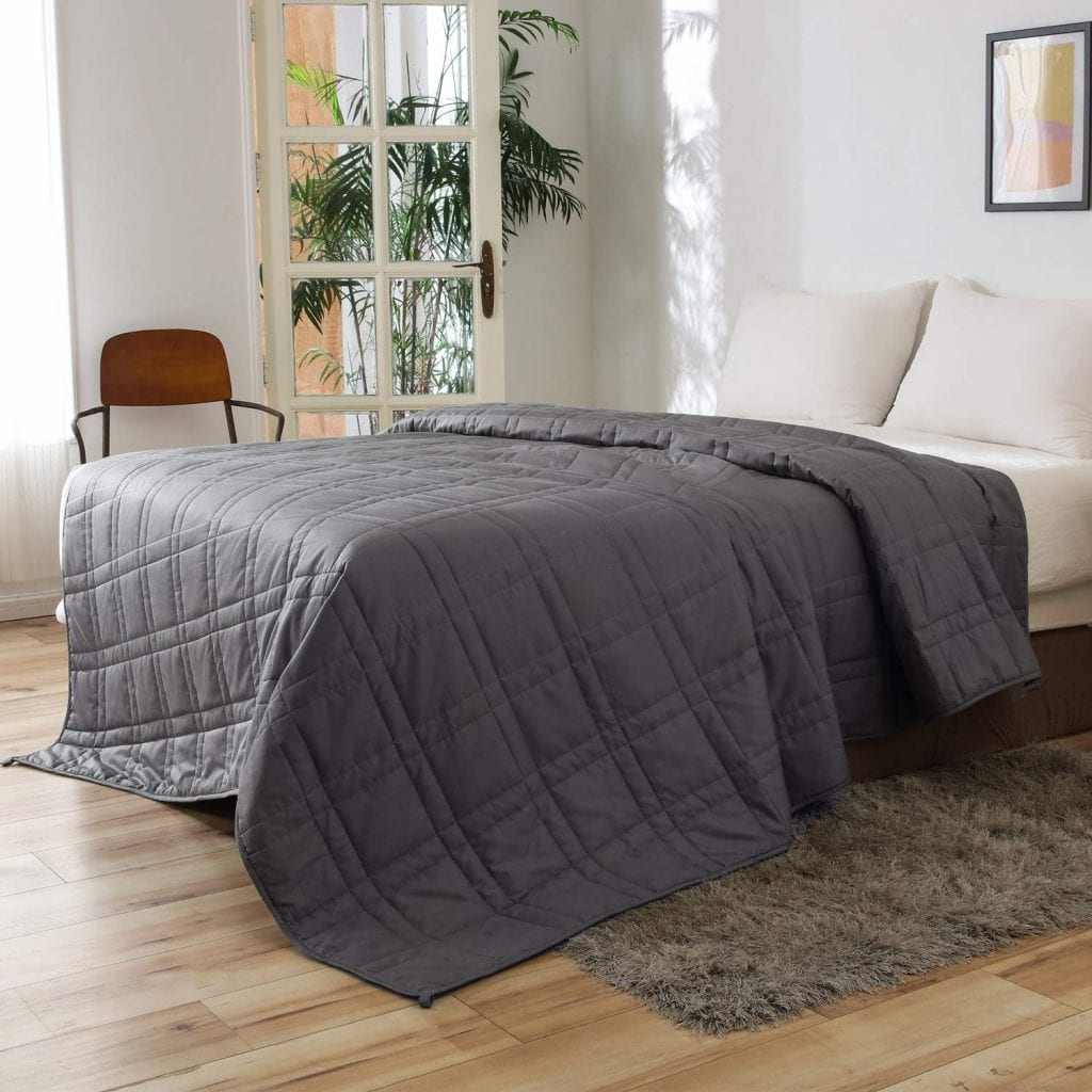 OMYSTYLE King Size Weighted Blanket