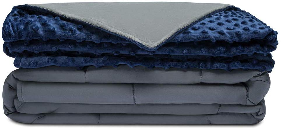 Quility Premium Adult Weighted Blanket- King Size Bed Size