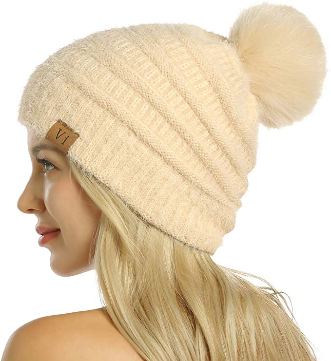 Women's Winter Hat by ViGrace