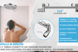 Adjustable Shower Heads