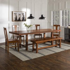 WE Furniture Farmhouse Dining table