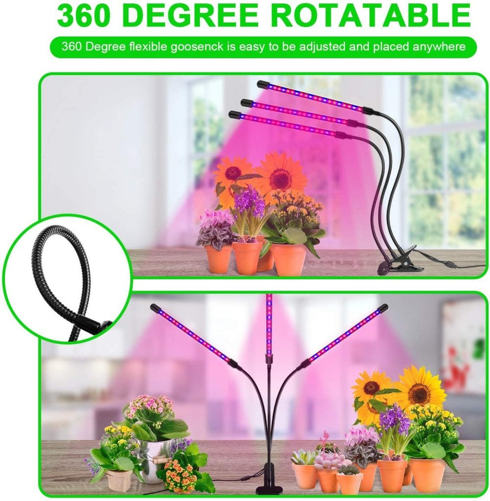 60W Grow Lights for Indoor Plants by Ankace