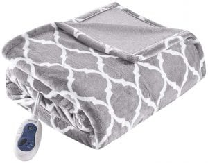 Beautyrest Plush Heated  Blanket for Bed and Sofa