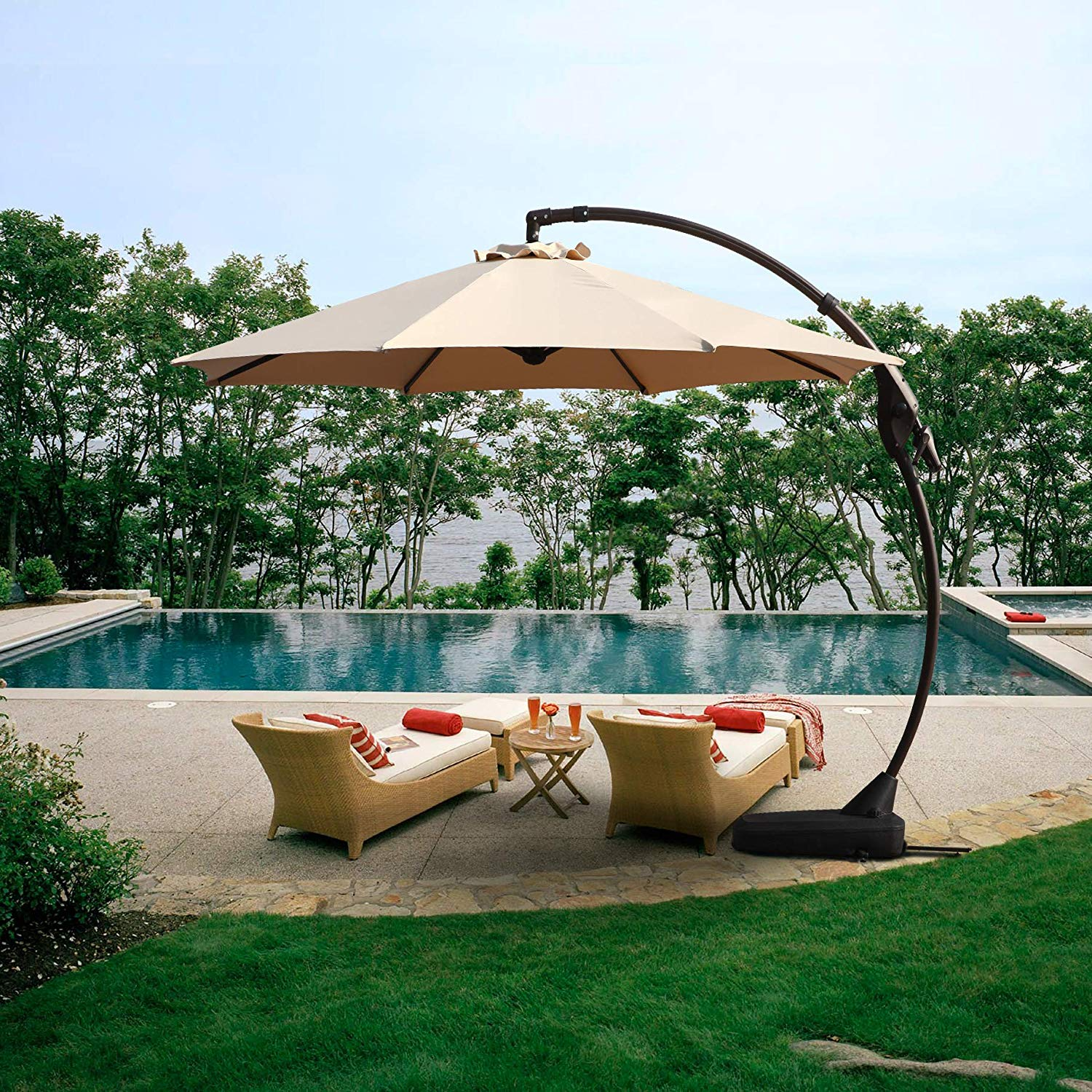 The Best Offset Patio Umbrellas In 2020