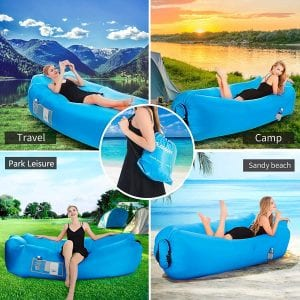 Edeuoey Inflatable Lounger Air Sofa
