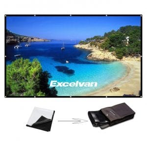 Excelvan Outdoor Portable Projector Screen