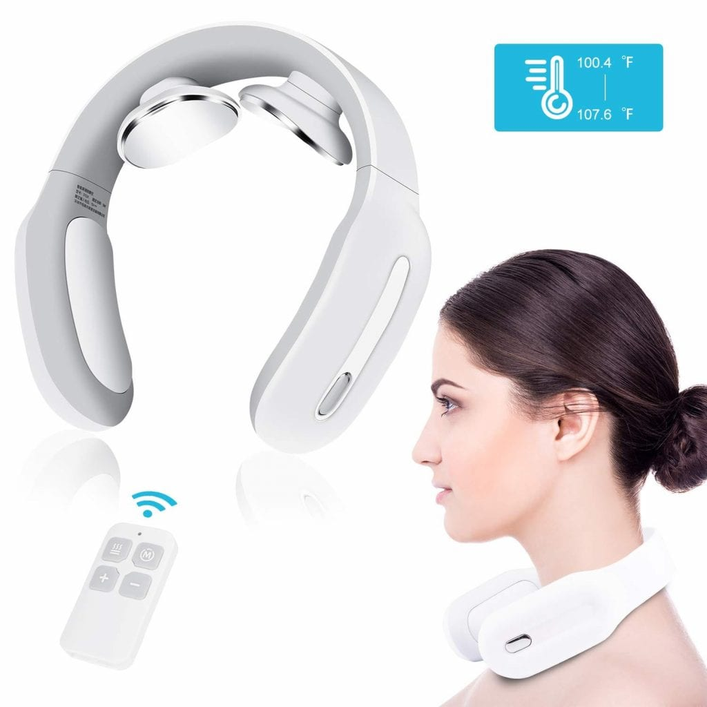 Heli Metal Neck Massager with Heat