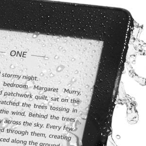 Kindle Paperwhite Waterproof with larger Storage