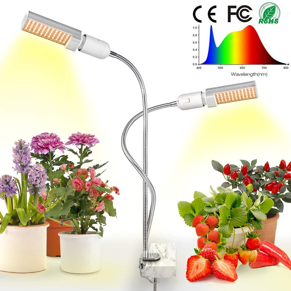 LED Grow Light for Indoor Plants by Relassy