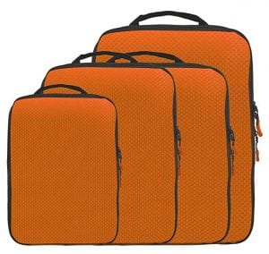 Magictodoor Dual Sided Compression Packing Cubes