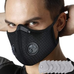 Monata Activated Carbon Pollution Face Mask