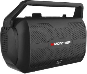 Monster Nomad speaker for music, guitar and microphone