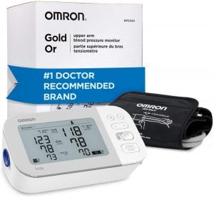 Omron Gold Blood Pressure Monitor for 2 Users