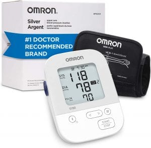 Omron Silver Automatic Blood Pressure Device