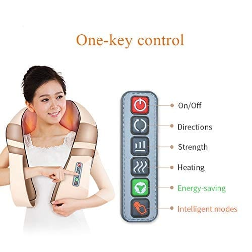 QIANJING Back and Neck Massager