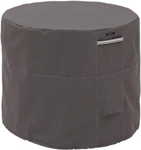 Ravenna Water-Resistant Round AC cover