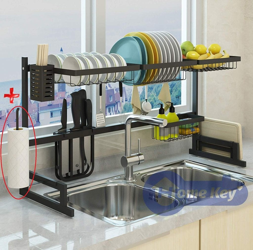 Topkitch Over the Sink Rack