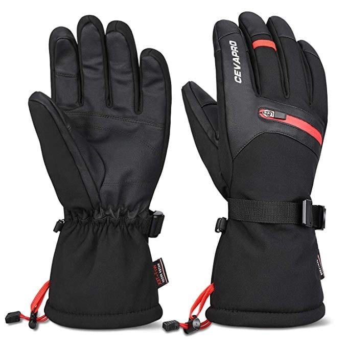 Cevapro waterproof Ski gloves -40℉