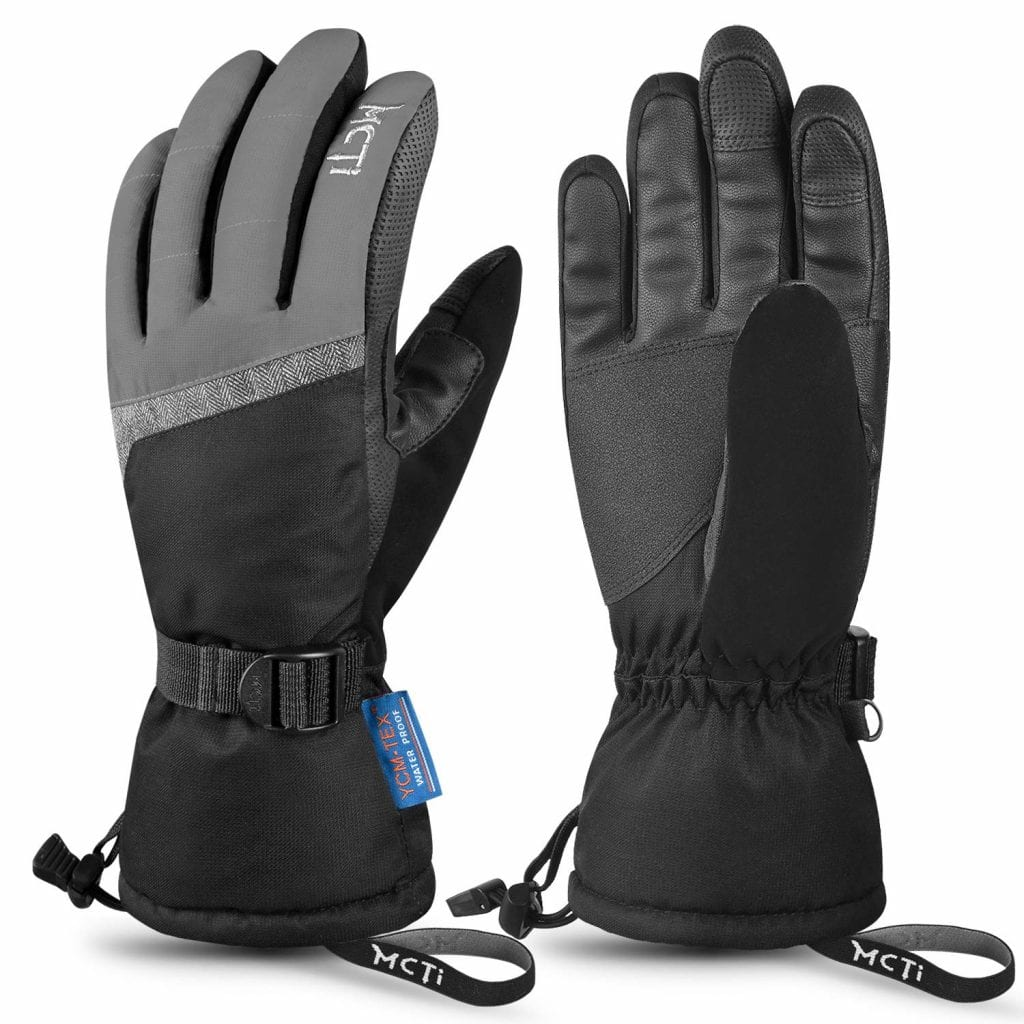 MCTi Waterproof Ski Gloves