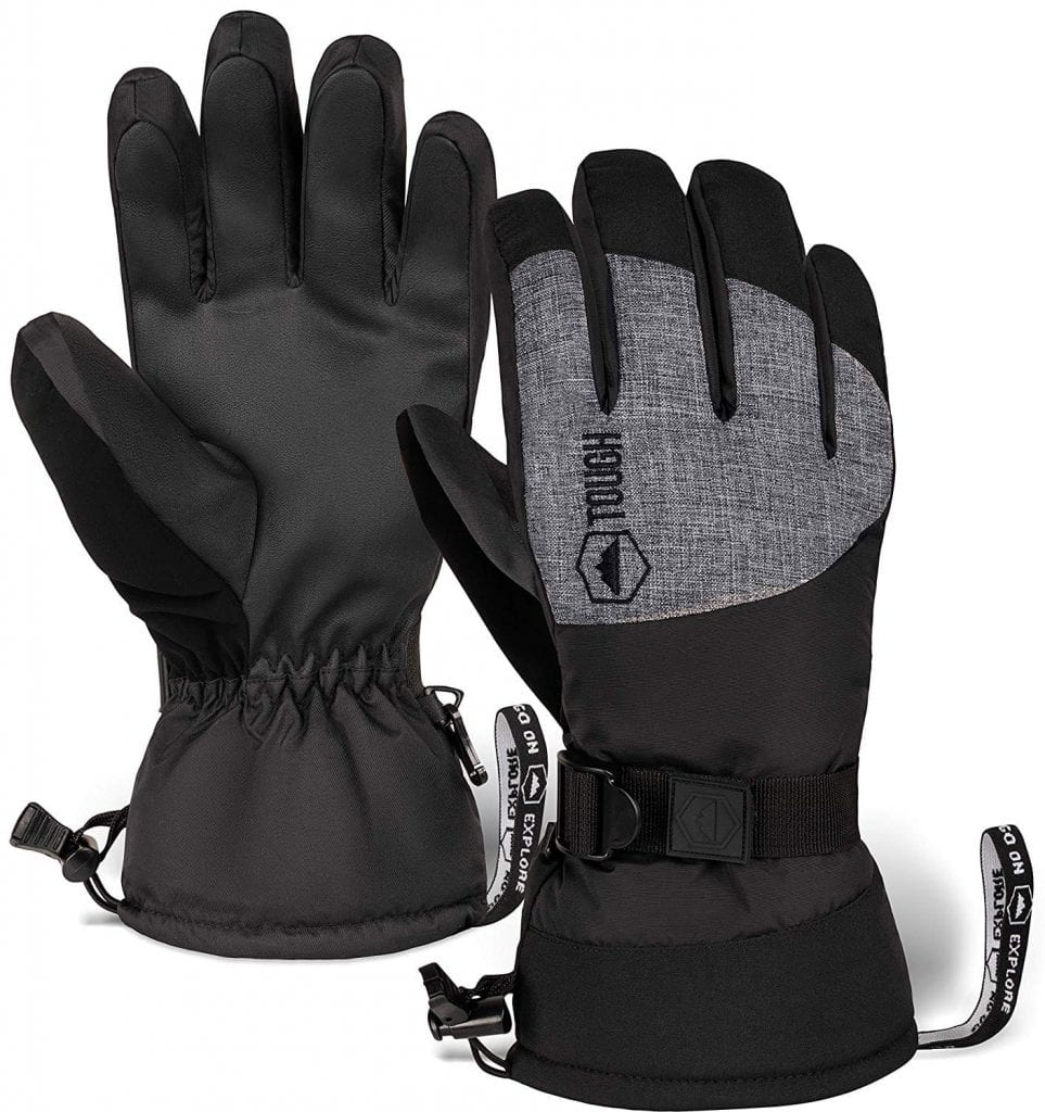 Tough Outdoors Winter Snow Gloves