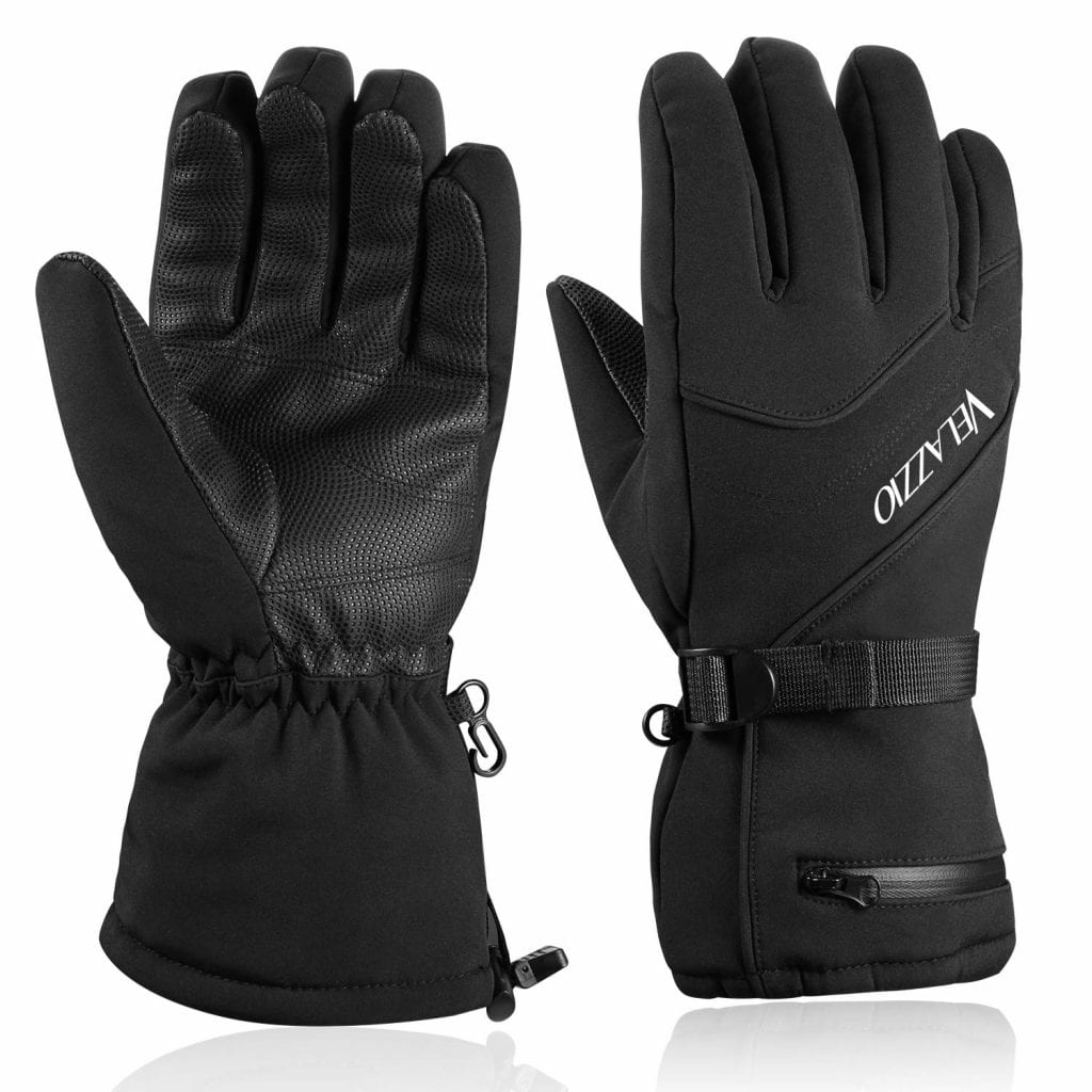 VELAZZIO Breathable Ski-Gloves for Men & Women