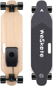 WeSkate Electric Skateboard Longboard with Remote Controller