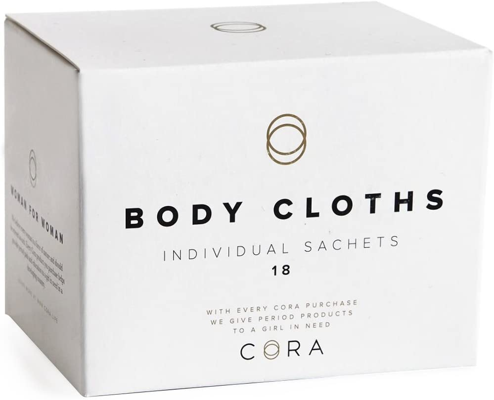 Cora Essential Oil Bamboo Feminine Wipes