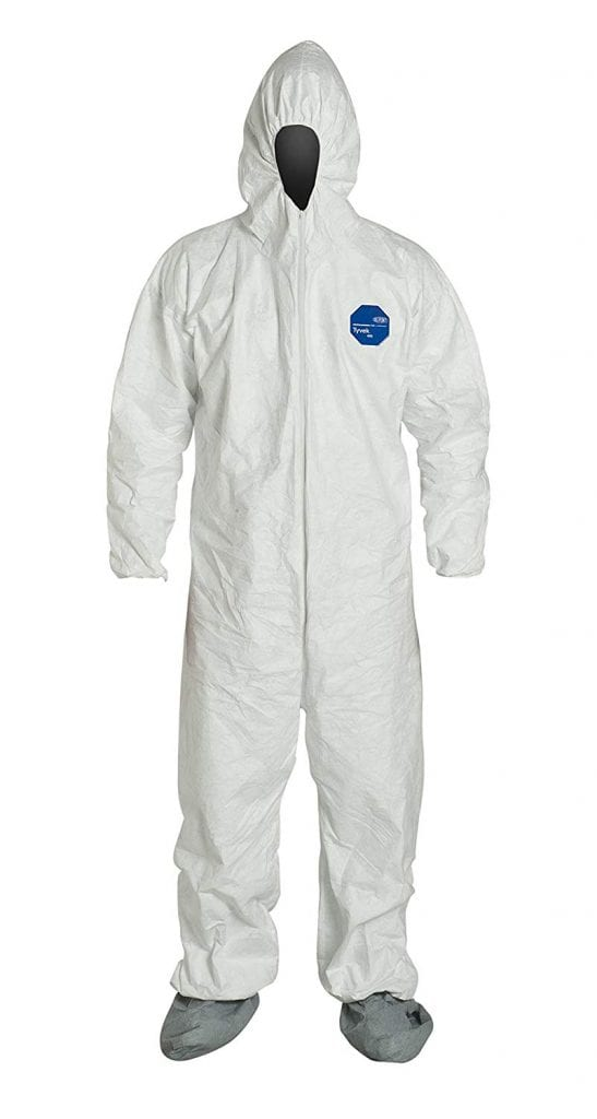 DuPont Tyvek 400 TY122S Disposable Protective Coverall