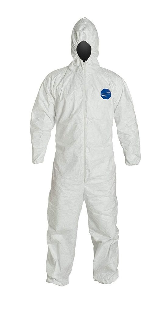DuPont Tyvek 400 TY127S Disposable Protective Coverall
