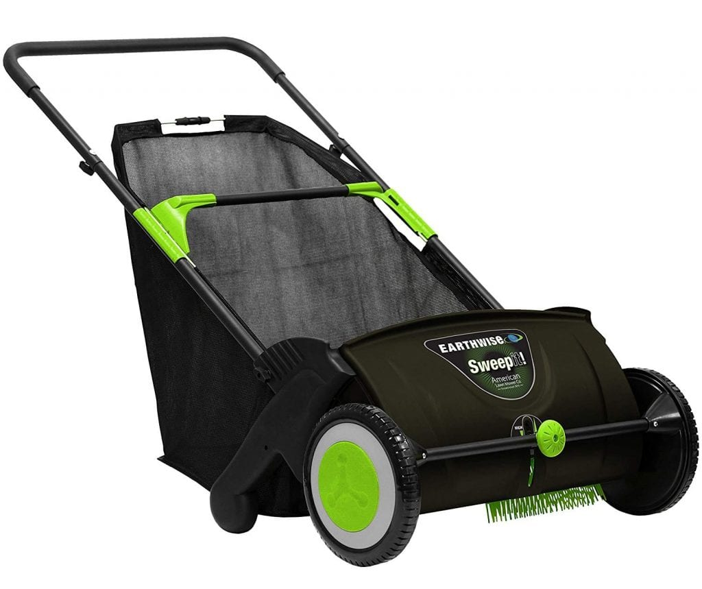 Earthwise 21-Inch Push Lawn Sweeper LSW70021