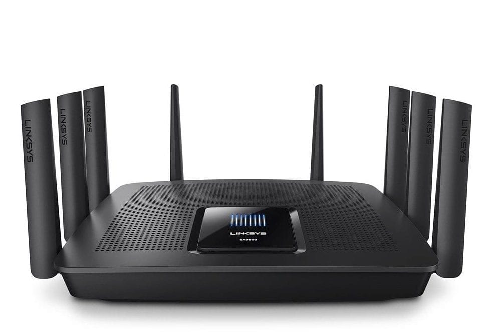 Linksys Tri-Band Wifi Router for Home office