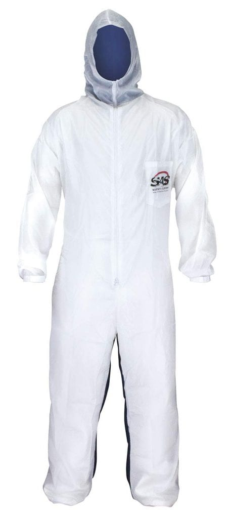 SAS Safety 6983 Nylon Cotton Moon Suit Coverall
