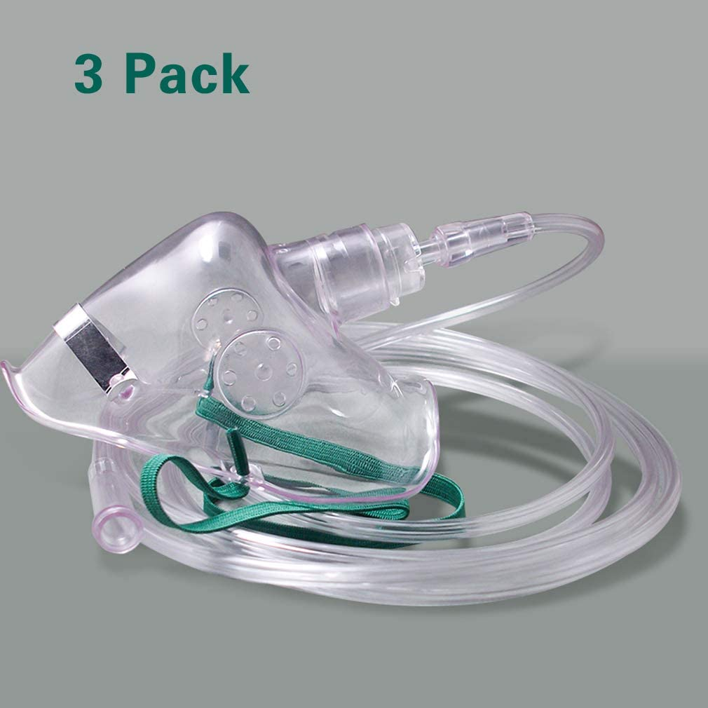 Soft Adult Oxygen Mask