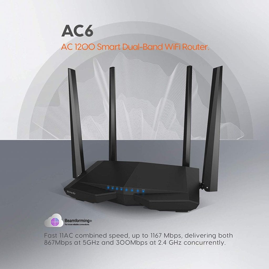 Tenda AC1200 High Speed Wireless Internet Router