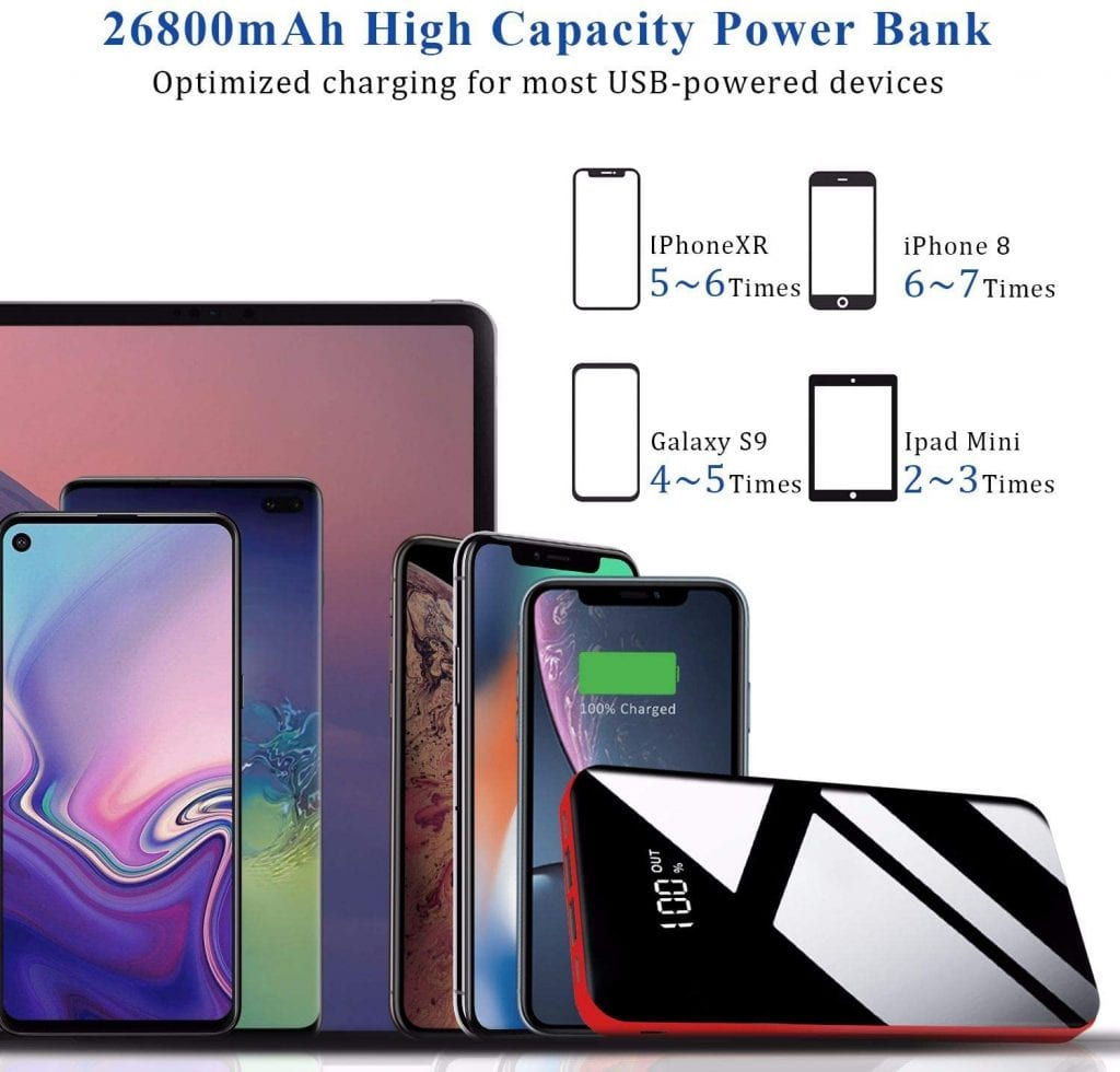 Todamay Battery Power Bank Charger