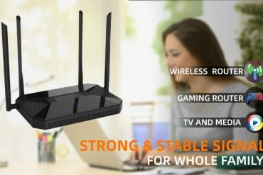 Wireless Router for Home Office