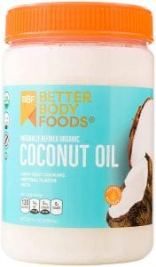 BetterBody Foods Organic Refined Coconut Oil-28oz