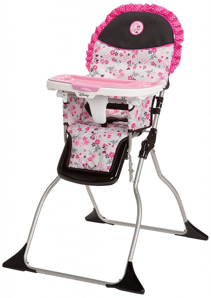 Disney Baby Minnie Mouse Simple Fold Plus High Chair
