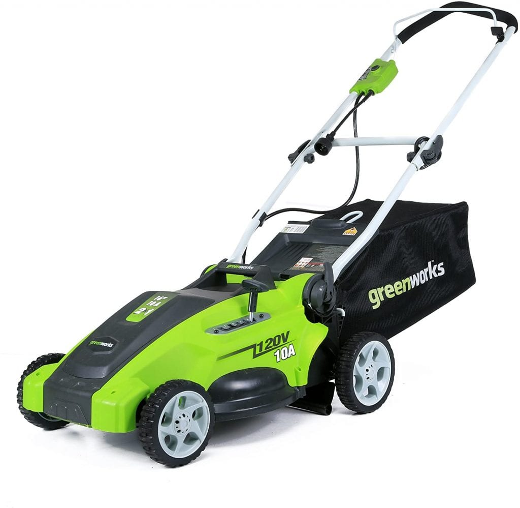 Greenworks Electric 16 inch Lawn Corded Mower