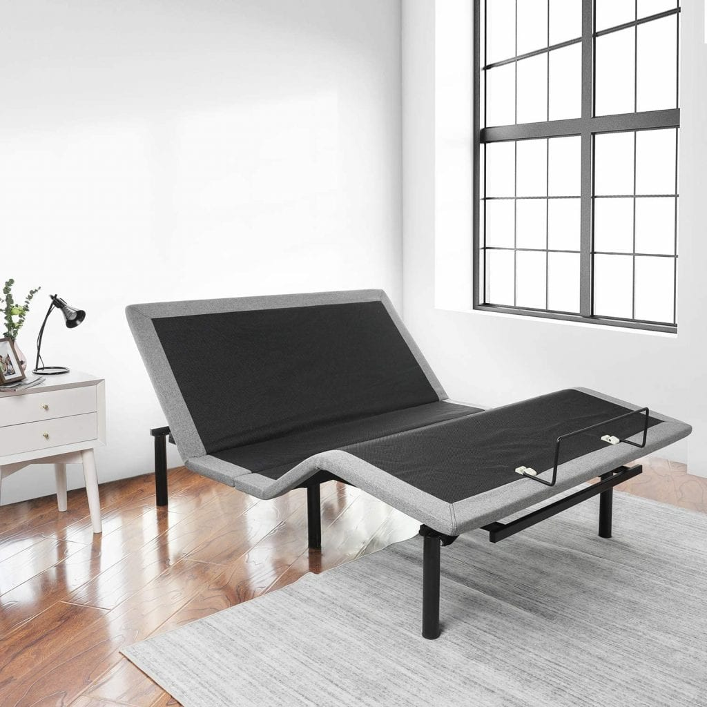 Ruuf Adjustable bed base with head and foot incline