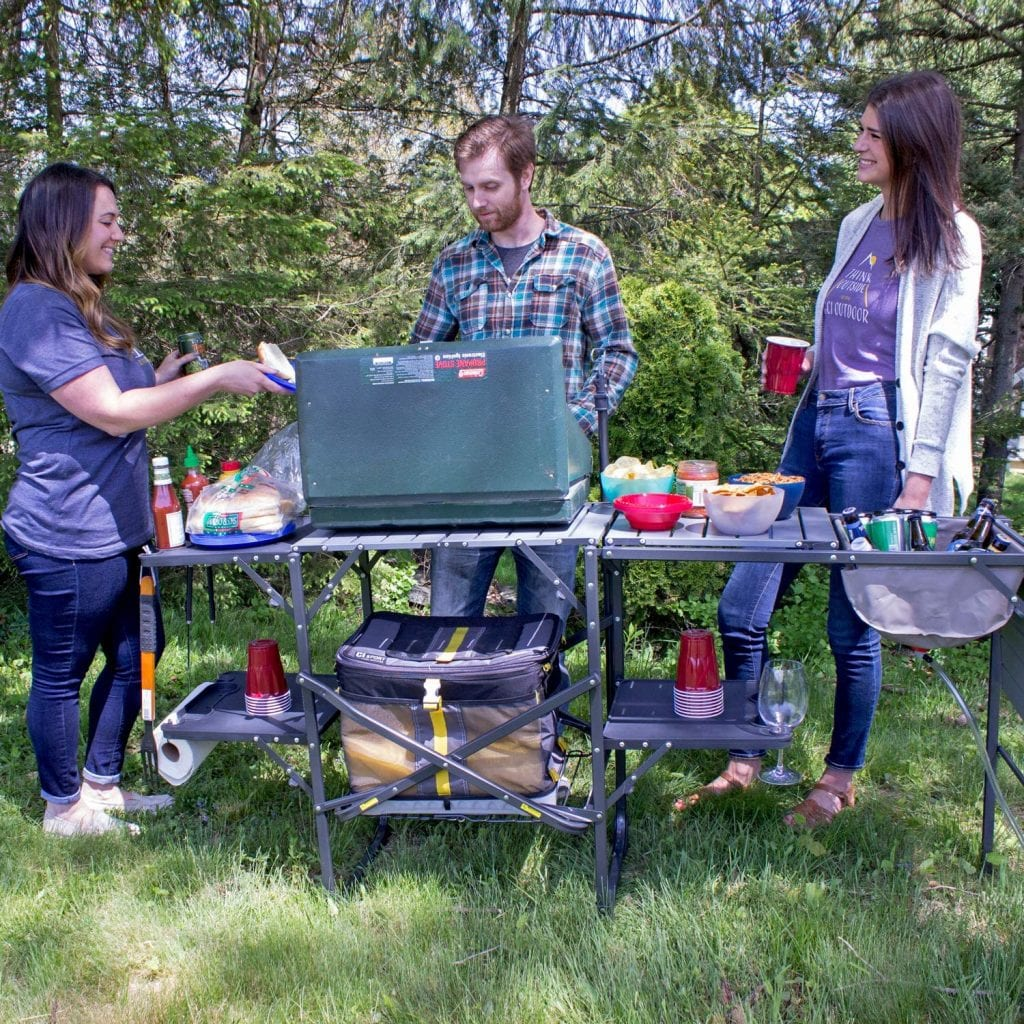 Portable Kitchen for Camping