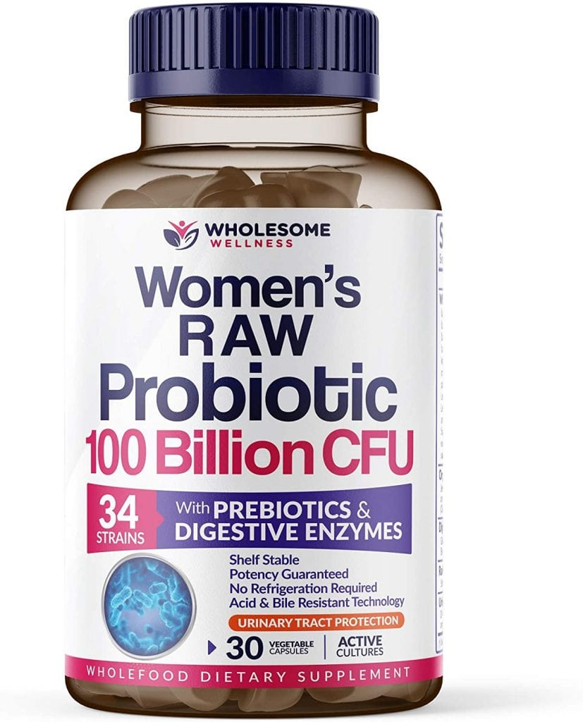 Wholesome Wellness Dr. Formulated Raw Probiotics for Women
